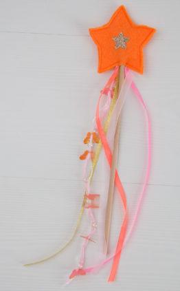 baguette magique orange -rose boho
