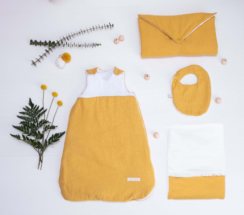 ensemble gabrielle jaune moutarde